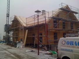 Aufdachdämmung mit Homatherm Holzfaserplatten