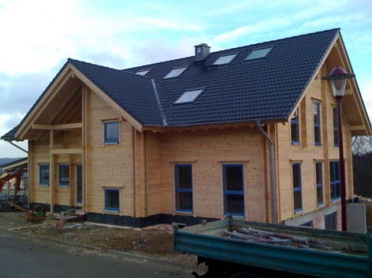 Blockhaus Finanzierung über Baudarlehen