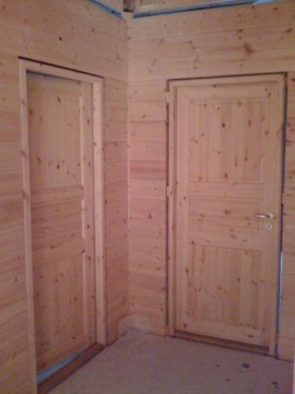 Holztüren in Ständerbau