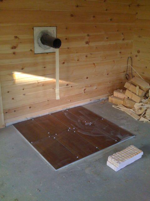 bodenfliesen verlegen ein paar tipps von unserem bau blockhaus. Black Bedroom Furniture Sets. Home Design Ideas