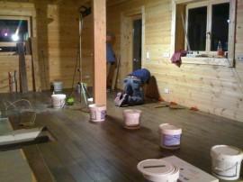 Eigenleistung am Bau spart Geld – Holzdielen