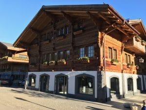Holzhaus in der Schweiz