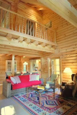Wohnzimmer des Nordic Hauses