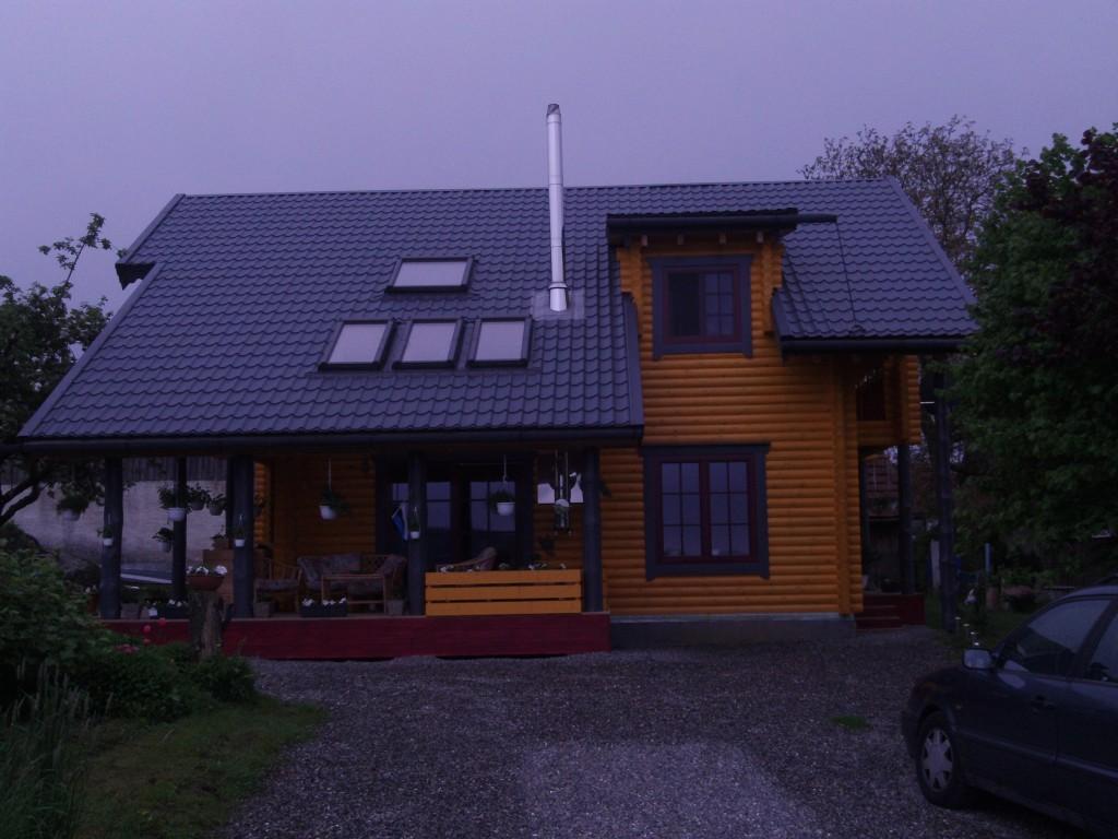 Blockhaus4you Rundstamm Blockhaus