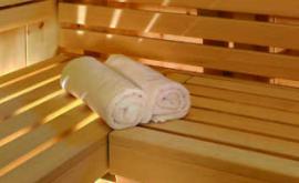 Außensauna Wellness Tempel