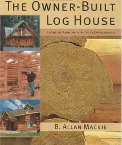 Wer sich für ein Naturstammhaus interessiert, sollte sich zu allererst dieses Buch durchlesen (ENGLISCH!) und danach einmal Probewohnen in einem Naturstammhaus
