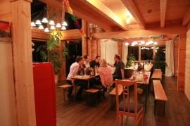 Holz Wintergarten zum feiern