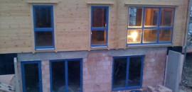 Fensterrahmen Holz Alu