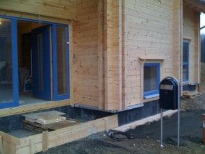 Holzhaus Nachteil stehende Feuchte