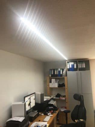 Philips HUE LED Lichtstreifen an Decke