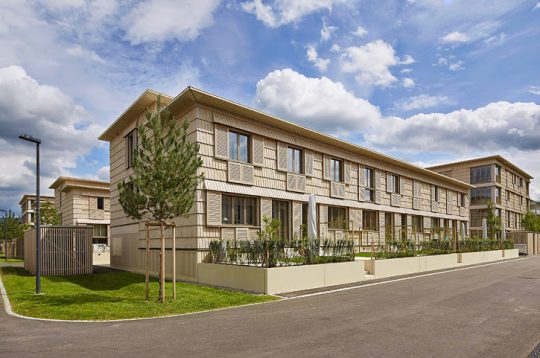 Holzhaussiedlung bei Mellingen – Neugrueen
