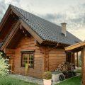 Holzhausohnebodenplatte