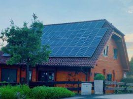 Holzhaus als Energiesparhaus