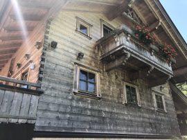 Holzhaus geerbt aber Fassade nicht gestrichen