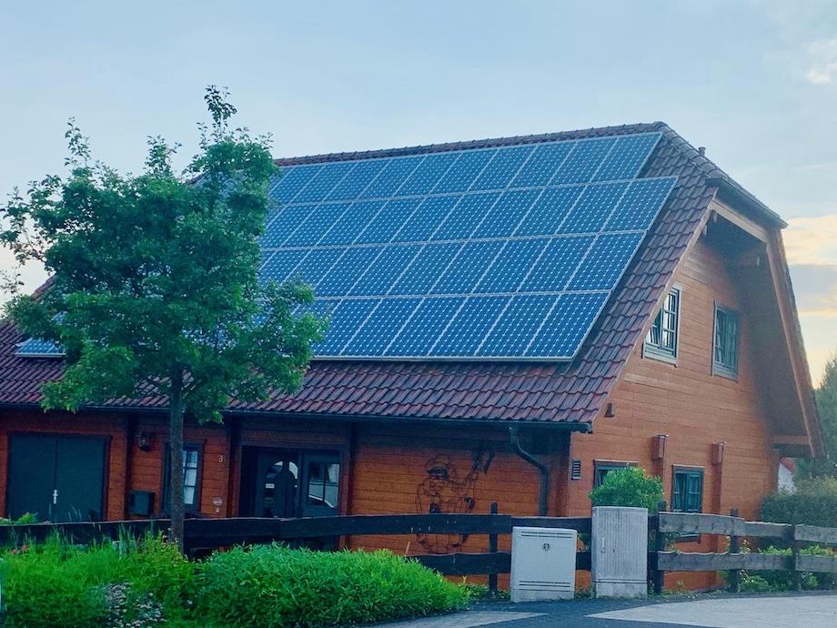 Eigenstromerzeugung mit PV Anlage