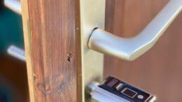 elektronisches Türschloss mit Fingerabdruck