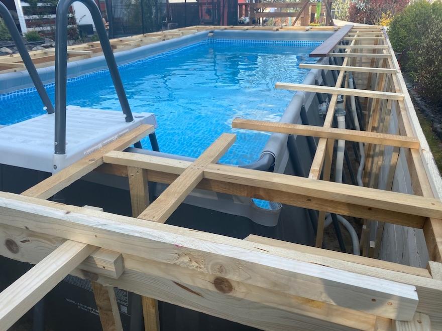 Pool statt Innenausbau